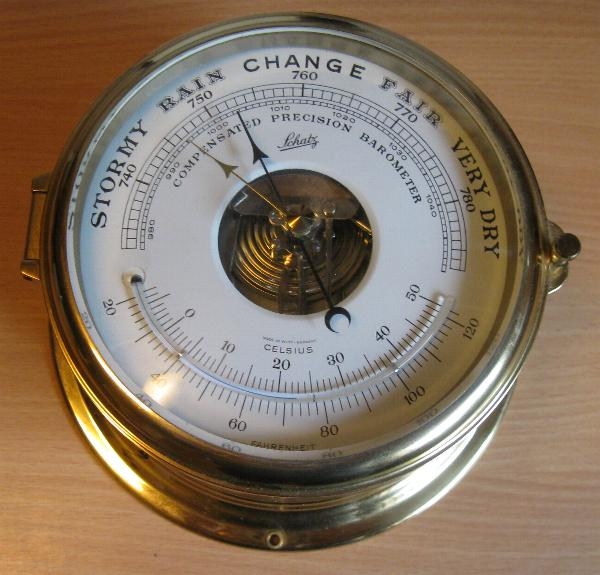 Schatz Royal Mariner Barometer