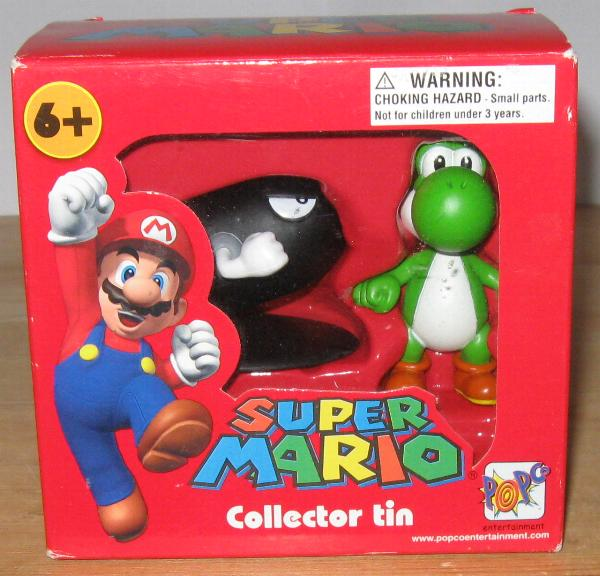 Super Mario collector tin