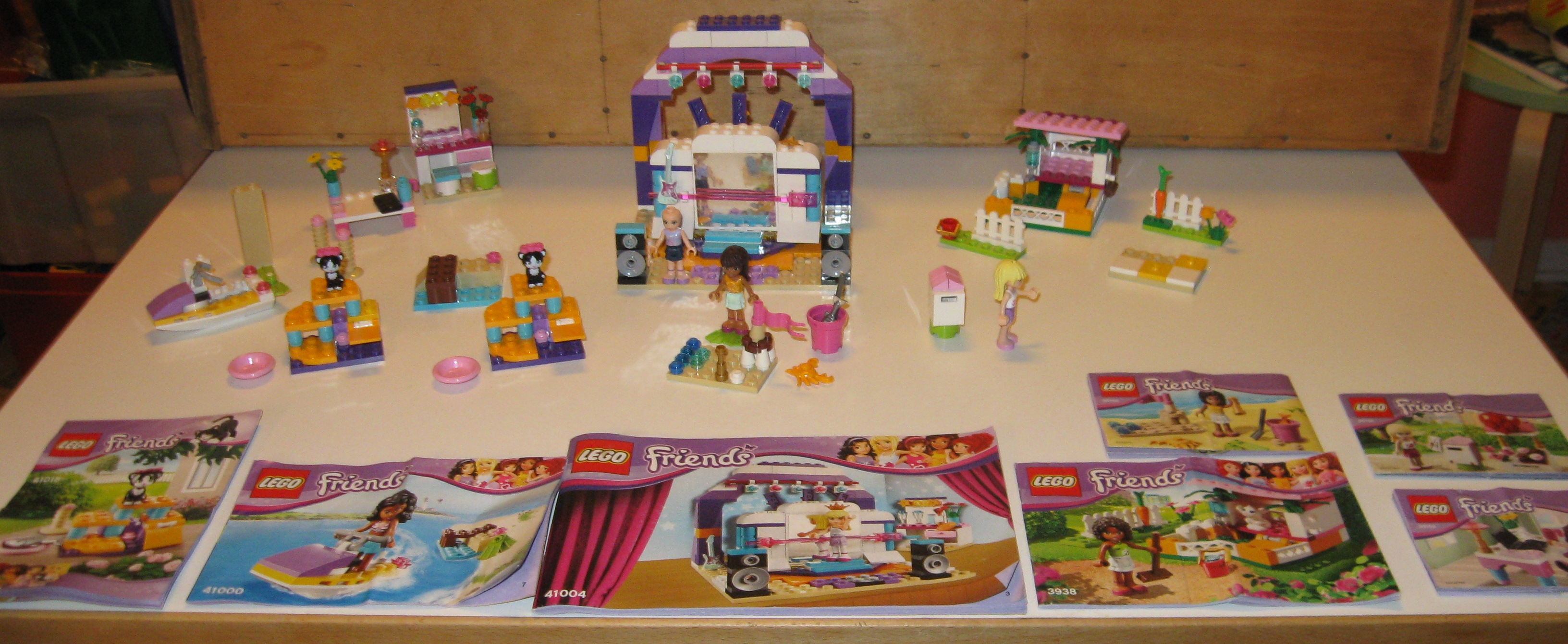 Lego Friends løsdele