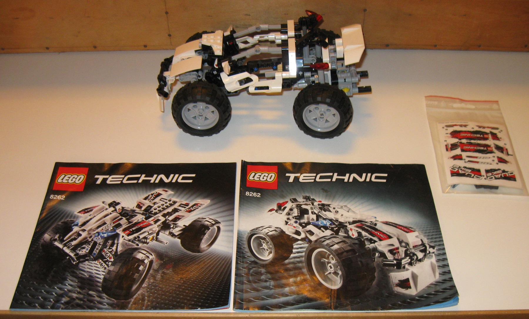 0010 Lego technic Quad bike 8262