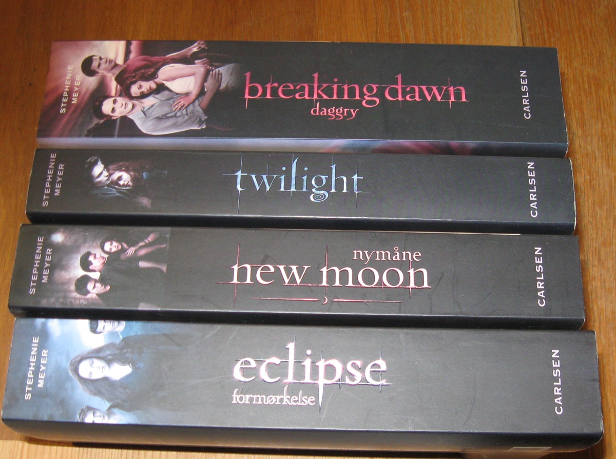 Twilight sagaen 1 - 4
