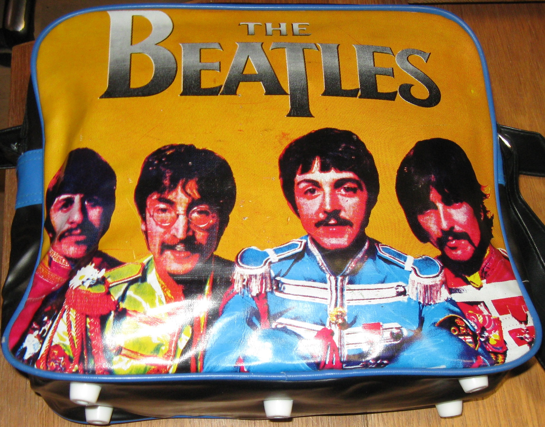 0013 The Beatles skuldertaske