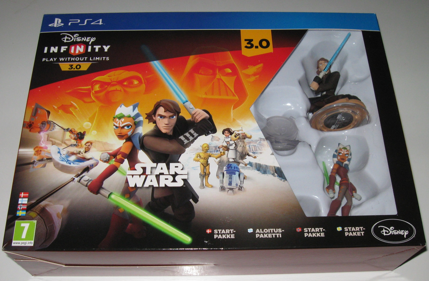 PS4 Star Wars startpakke