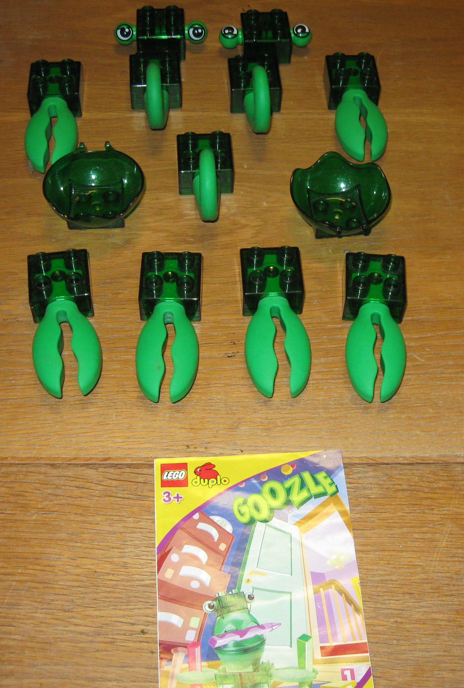 0005 Duplo Zooters, Goozle reservedele