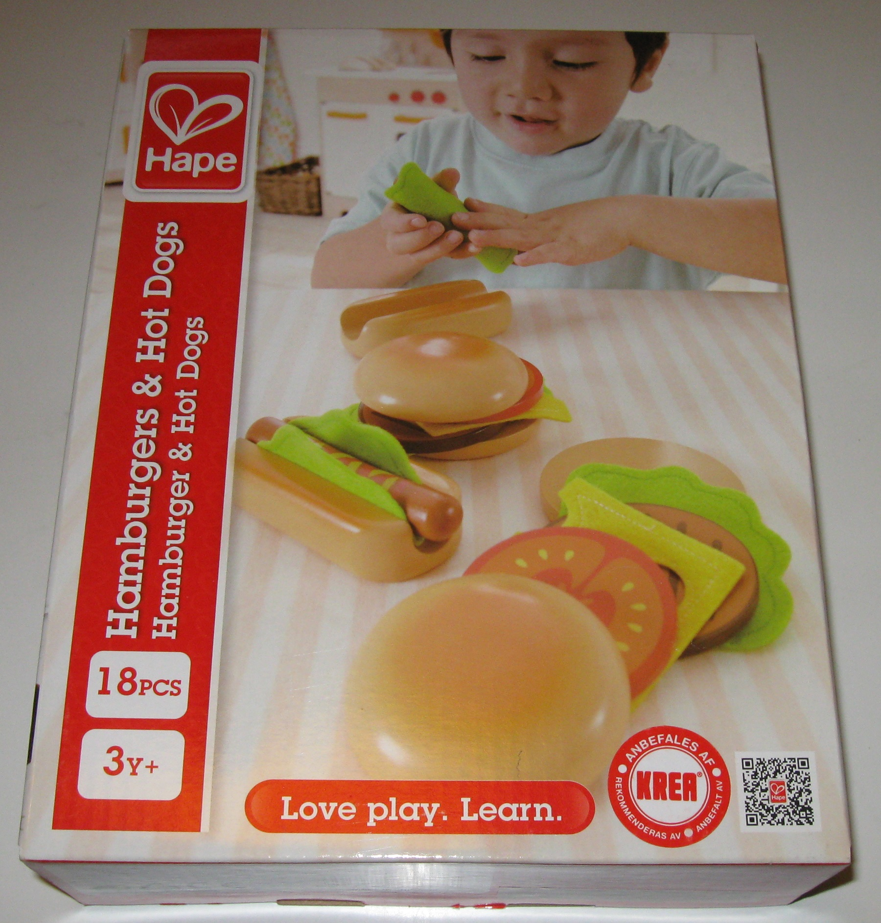 Hape Hamburger & Hot dogs
