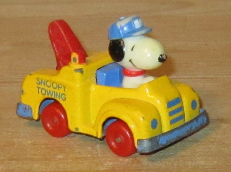 Snoopy towing
