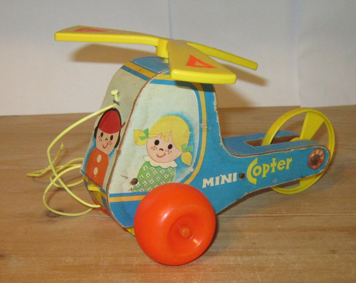 Fisher Price helikopter