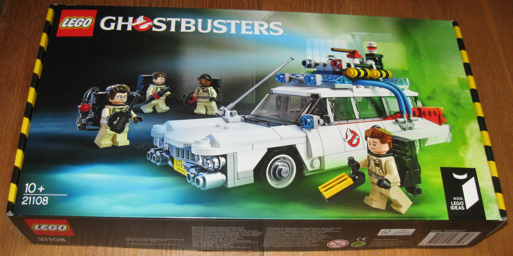 0010 Lego 21108 Ghostbusters