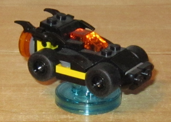 0100 Lego Dimension, Batmobile