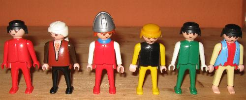 Playmobil figurer 06