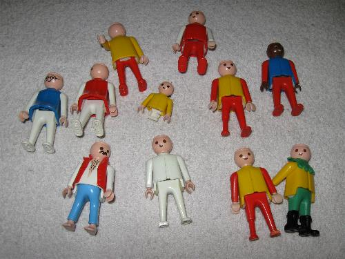 Playmobil figurer 08