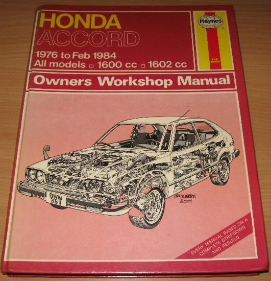 Honda Accord 1976-1984